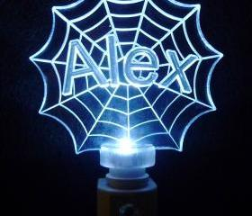 Spiderman Web LED Night Light